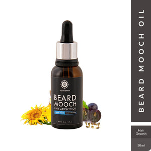 VEER-APPAN Beard Mooch Hair Growth Oil, 30 ml