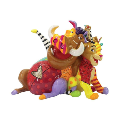 Simba, Pumbaa and Timon - Britto