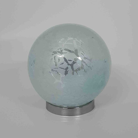 Friendship Ball Soft Blue Crackle