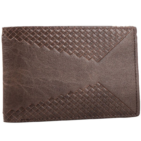 ALPHA GLOBAL WALLET BROWN