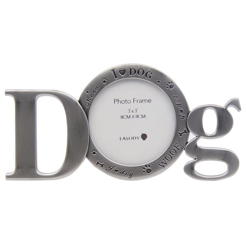 DOG WORD 3 X 3 FRAME