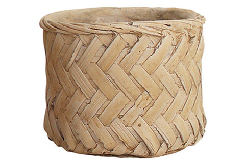 WALDA CEMENT POT NATURAL 13 X 11