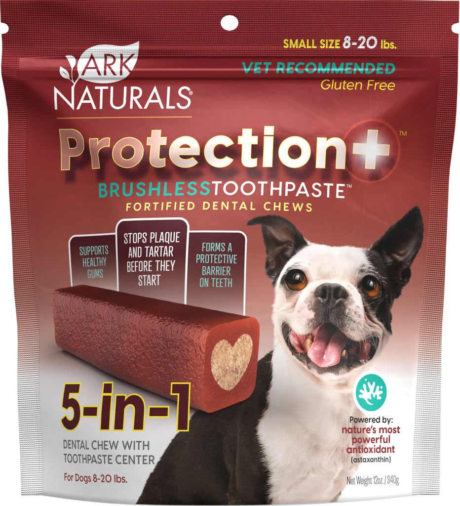 Small Protection+ Brushless Toothpaste, for dogs 8 to 20 lbs.