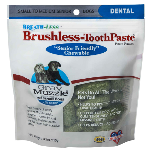 Gray Muzzle Brushless Toothpaste Small to Medium