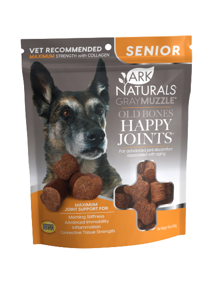 Gray Muzzle Old Bones! Happy Joints! Max Strength