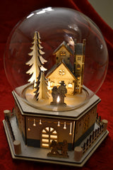 Alpine Domed Holiday Scene