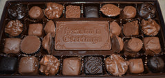 INCLUDES SHIPPING - Deluxe Gift Box with Chocolate Bar Message
