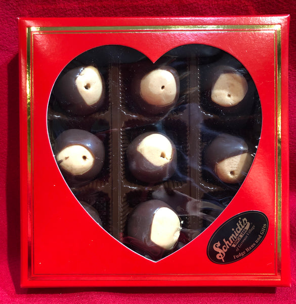 9pc Valentines Day Buckeyes