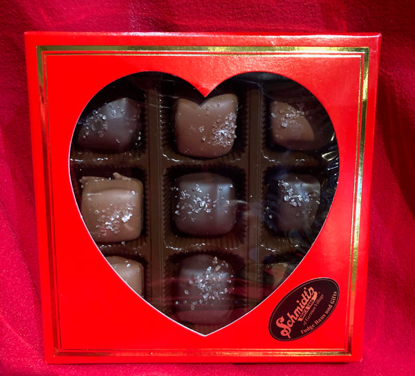 9pc Assorted Sea Salt Caramels
