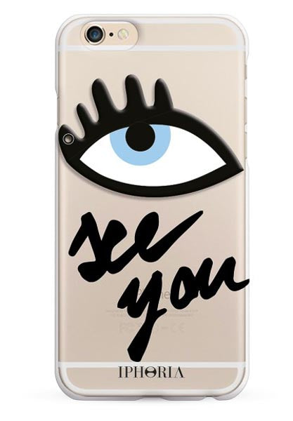 Iphoria Case Miroir Au Portable See You Transparent For Iphone 7 8 - Main Image