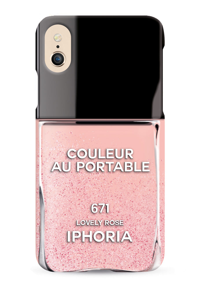 Iphoria Liquid Case Nailpolish Lovely - for IPhone X
