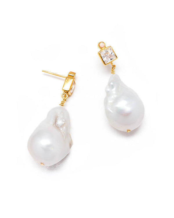 Anni Lu Ohrstecker Baroque Pearl Bling