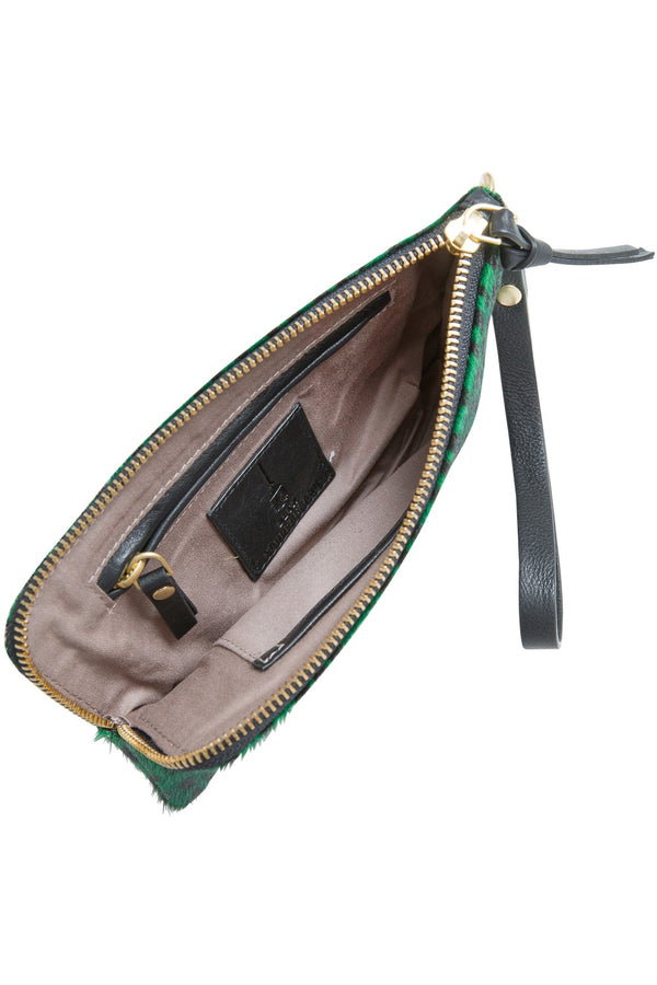 Becksondergaard Clutch Dover Darkest Green - Detail Image 1