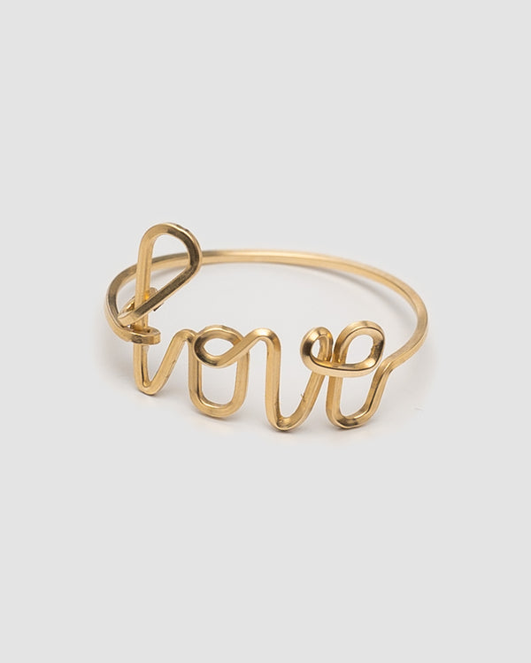 By Philippe Ring Love gold