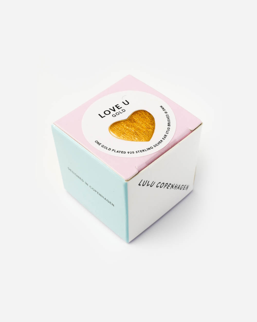 Lulu Copenhagen Herz Ohrstecker Love You