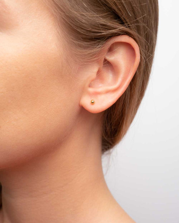 Luna Dansk Ball Earstuds 3 mm