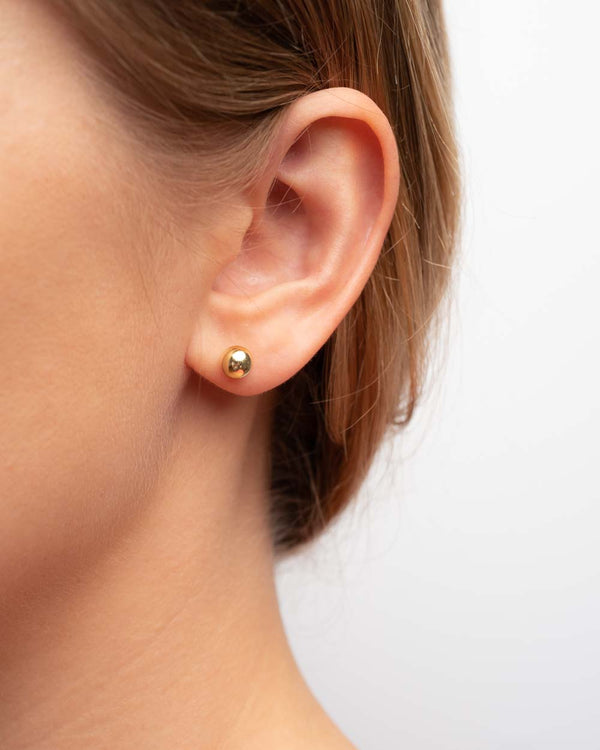 Luna Dansk Ball Earstuds 5 mm