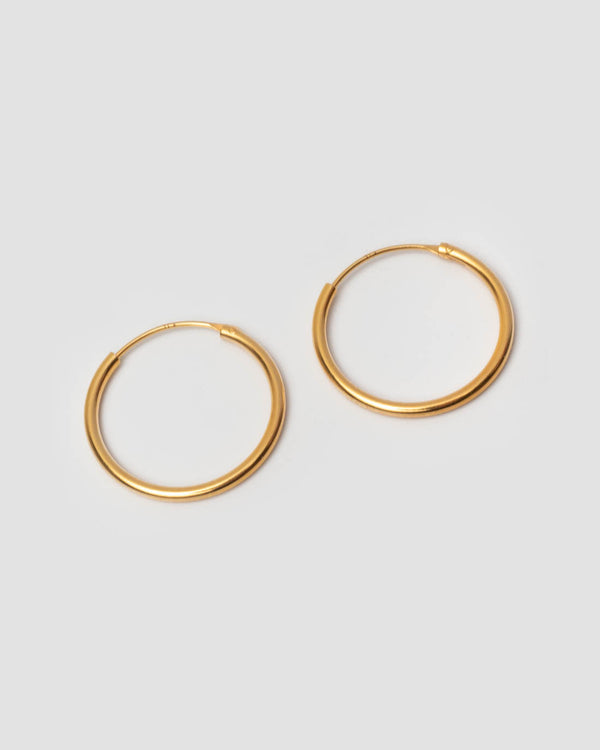 Pernille Corydon Creolen Mini Plain Hoops 20 mm