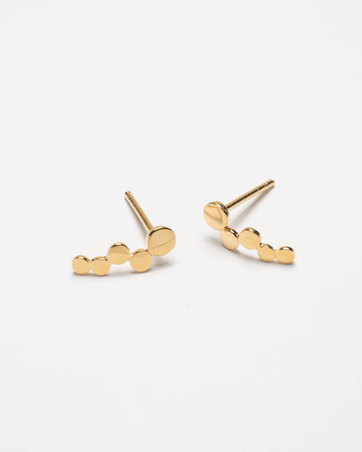 Pernille Corydon Ohrstecker Sheen 10 mm Gold