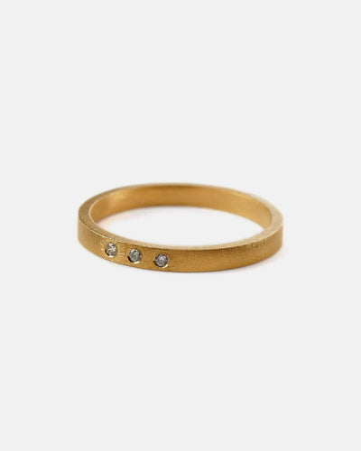 Pernille Corydon Ring Petite Alliance Triple Grosse 52 55 Gold