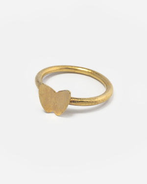 Pernille Corydon Ring Mit Schmetterling Gold