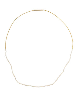 Saskia Diez Halskette Fine Pearls And Chain 18 Karat  - Main Image