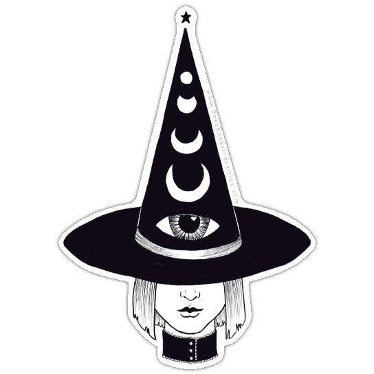 Third Eye Witch Vinyl Sticker