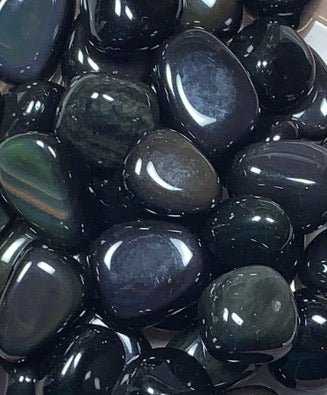 Rainbow Obsidian (Tumbled)