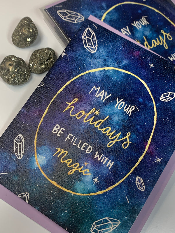 Magical Holidays Greeting Card