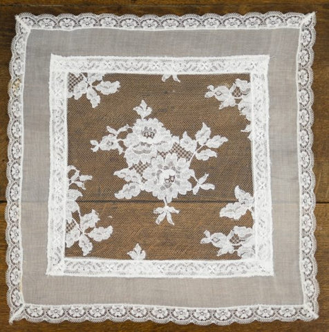 Authentic Chantilly Lace Centrepiece