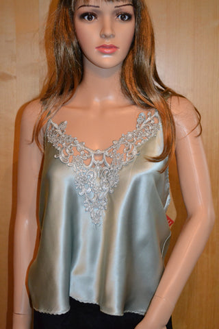 Large Ocean Pearl Silk Camisole