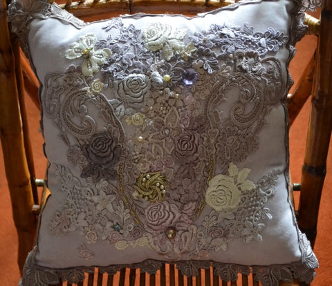 Silk Velvet Cushion CN102
