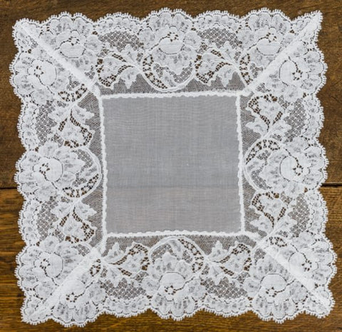 Leivers Lace Handkerchief - HF116