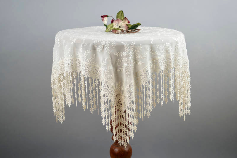 Drippy Lace Tablecloth