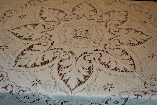 Cotton Lace Tablecloth - VTW204