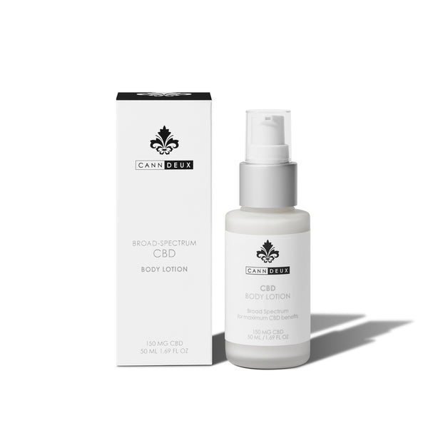 CANNDEUX BROAD-SPECTRUM CBD BODY LOTION