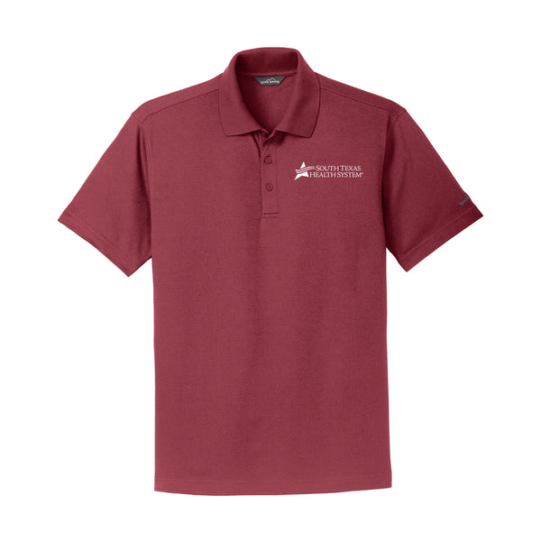 STHS Mens Performance Polo- Red Rhubarb