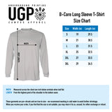 STHS Mens Long Sleeve Performance Tee- Cardinal