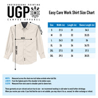 STHS Mens Button Down Long Sleeve- White