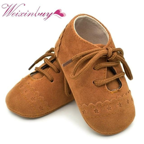 """Vintage"" Rubber Sole Baby Shoes"