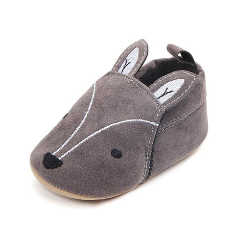 """Fox and Elephant"" First Walkers Toddler Shoes"