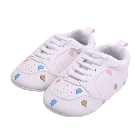"""Heart Star"" First Walkers Baby shoes"