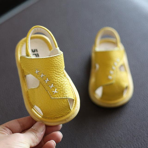 'Comfortable' Leather Baby Summer Sandals