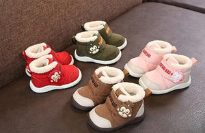'Super Soft' Monkey Suede Winter Baby Shoes