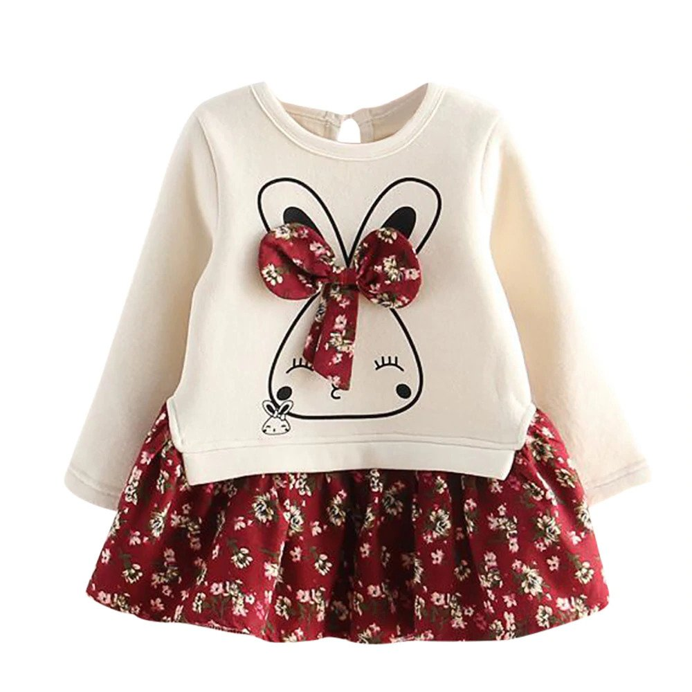 'Wonderful' Rabbit Two-piece Elegant Clothing Set