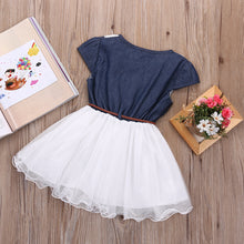 Load image into Gallery viewer, Princess Baby Girl's Lace Belt Tulle Dress