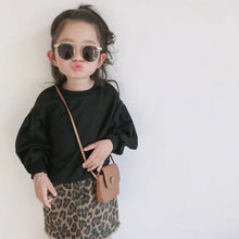 Load image into Gallery viewer, 'Stylish' Toddler Girl Long Sleeve Tops +skirt Set