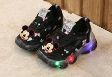 Load image into Gallery viewer, Mickey Minnie Kids Casual Luminating Shoes