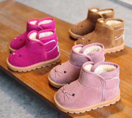 Cartoon Comfy Winter Boots