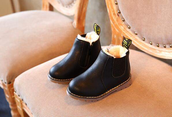 Handmade Martin Leather Plush Shoes
